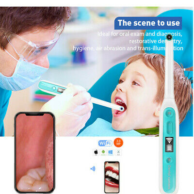 Dental Oral Wireless Wifi Intraoral Camera Endoscope Borescope Usb Hd Led Lights