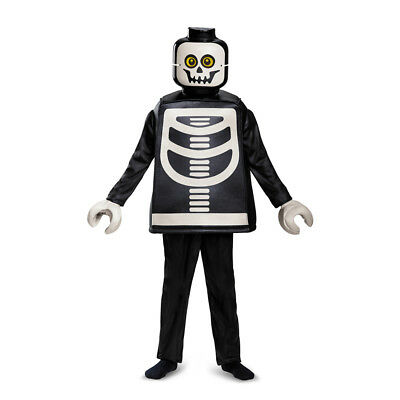 Kids LEGO Skeleton Deluxe Halloween Costume