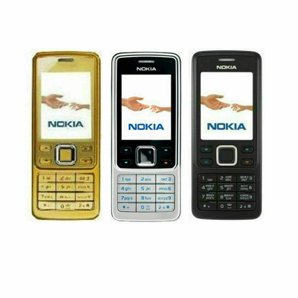 Android Phone - New Classic Nokia 6300 Unlocked Classic Camera Bluetooth Phone with WARRANTY