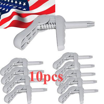 10pcs Dental Composite Gun Dispenser Applicator For Unidose Compulescarpules