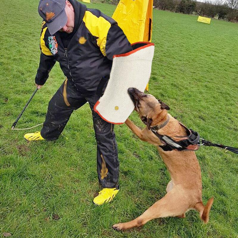 Professional Jute POLICE Dog Bite Sleeve Training Arm Protection German Shepherd