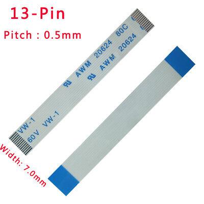 Ffcfpc Flexible Flat Cable Pitch 0.5mm 13-pin 13p 80c 60v Vw-1 L 50mm-3000mm