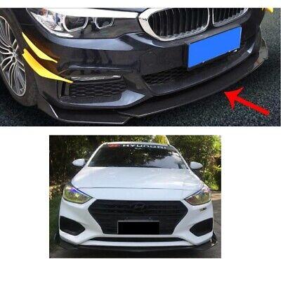 CARBON paint Frontspoiler front splitter für Mercedes B flaps diffusor dumper
