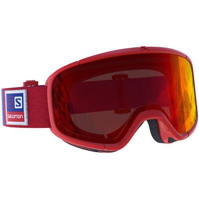 d2a06eb30b9 2018 Salomon Four Seven ski goggle Red Frame 70th Anniversary Limited 399020