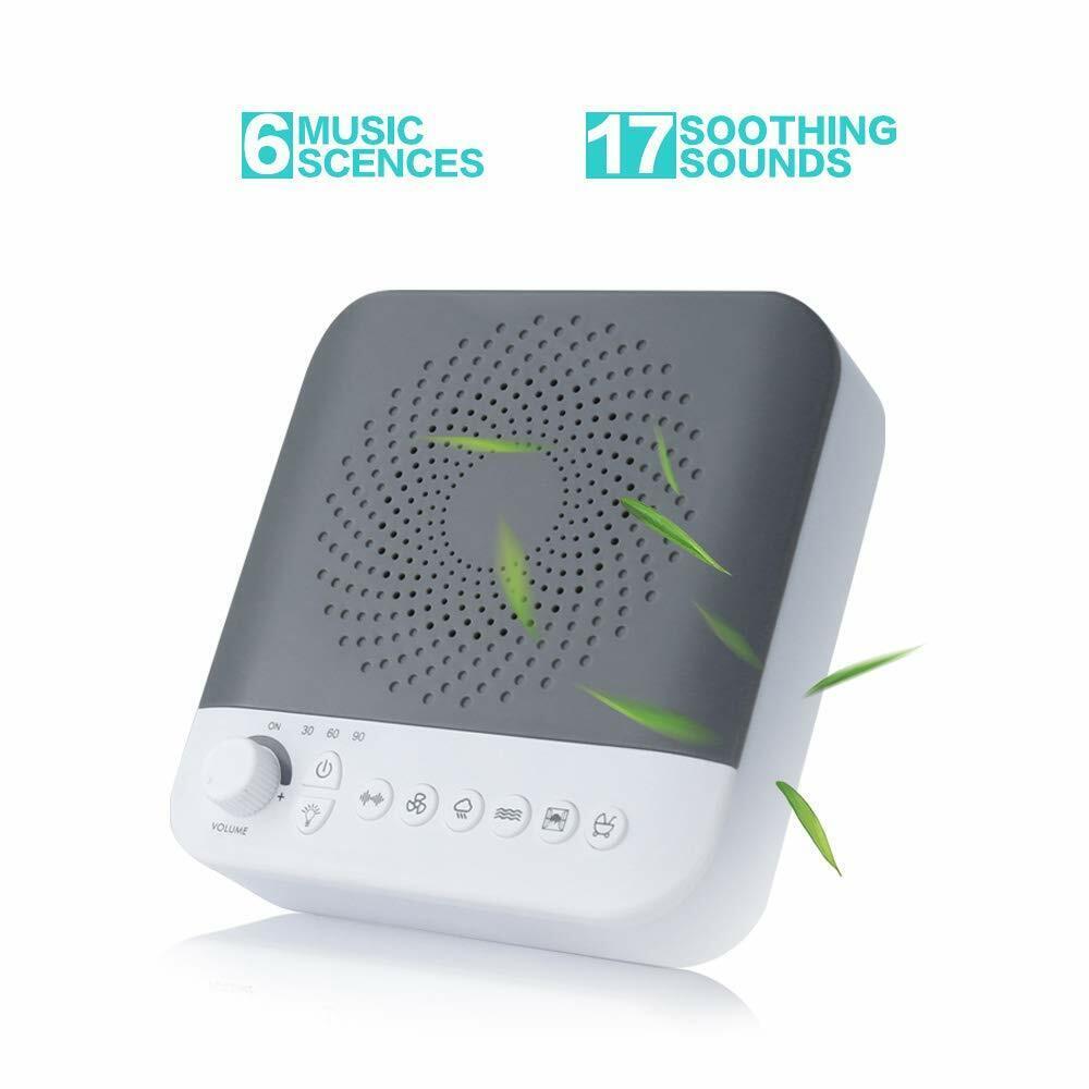 White Noise Machine for Sleeping, Portable Baby Sleep Sound