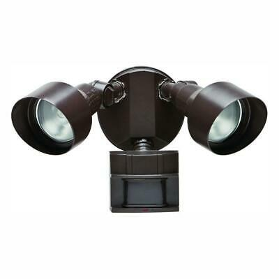 Defiant 110 Degree Outdoor Bronze Motion Security Light