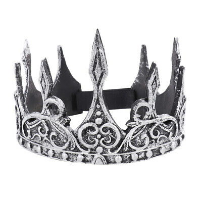 Antique King Crown Royal Medieva Headband Crown Men Crown Headdress Party Favors