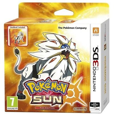 Pokemon Sun Fan Edition 3DS Game