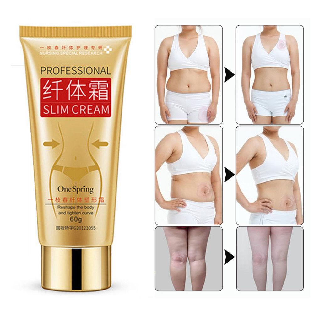One Spring Body Leg Slimming Cream Fat Burning Weight Loss Skin Anti