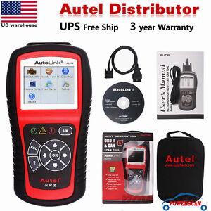 Autel AutoLink AL519 Auto Diagnostic Tool Scanner Car Fault Code Reader OBD2 CAN