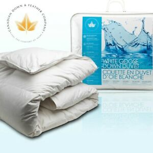 Canadian Down Feather Goose Duvet KING (THE BAY $975)