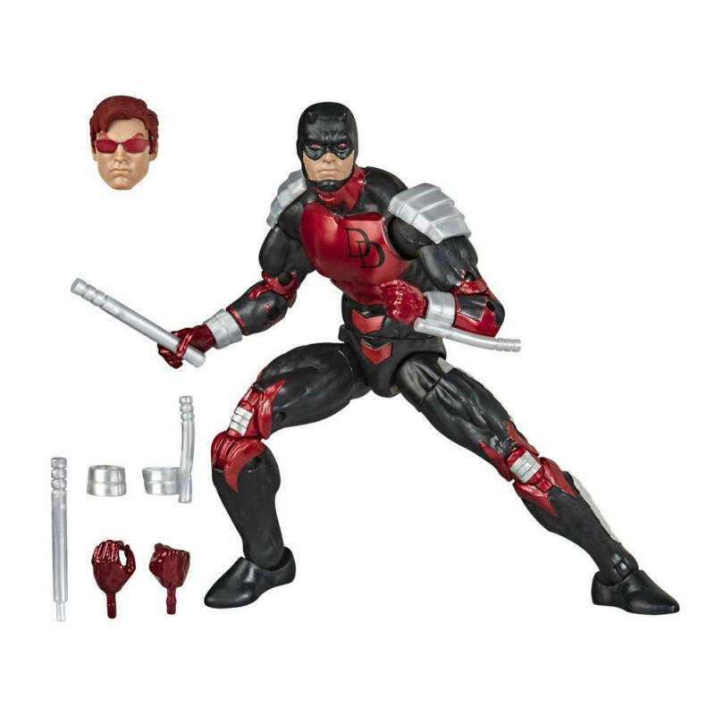 Hasbro Marvel Legends Series Spider-Man 6-inch Collectible Daredevil Action