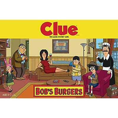 Board Games USAopoly Clue Bobs Burgers Themed TV Show Offici