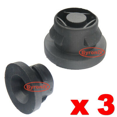 CITROEN PEUGEOT 1.6 HDI AIR FILTER BOX RUBBER GROMMET BLACK 1422A3  MOUNTING X 3