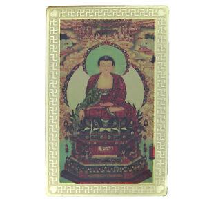 Feng-Shui-Sakyamuni-Buddha-with-SheLi-Pagoda-Talisman-Card