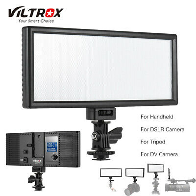 Viltrox L132T Professional Ultra thin LED Video Light Photography Fill Lamp H7O3