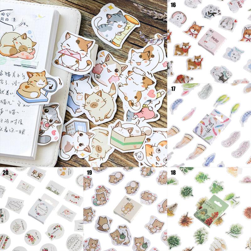 Etiketten für Tagebuch Aufkleber für Scrapbooking Papier Sticker Scrapbooking