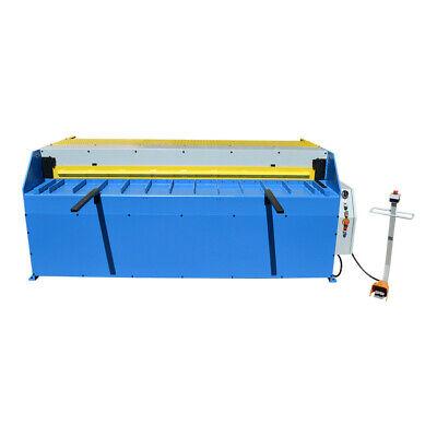 3hp 96 X 16 Gauge Hydraulic Shear Sheet Metal Cutter 1161.6mm Thickness-8ft