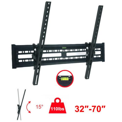 TV Wall Mount Bracket 15° Tilt Swivel For 32 37 40 42 46 50