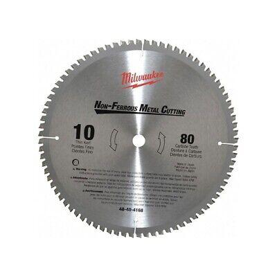 Milwaukee 48-40-4168 10 Non-ferrous Metal Cutting Circular Saw Blade