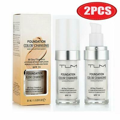2pcs Pro Classic TLM Color Changing Foundation SPF 15 New  30ml