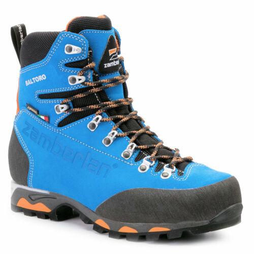 Mens Hiking Boots Zamberlan Baltoro GTX 1000 Blue UK Size 9.5 (EU 44) New