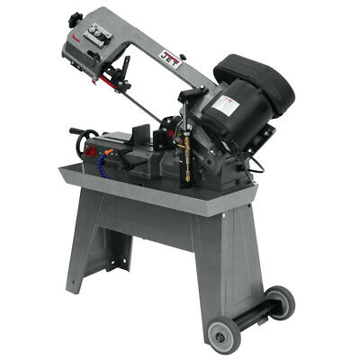 Jet 414461 5 in. x 8 in. Horizontal Dry Band Saw 1/2 HP115V1-Phase New 1 Phase Horizontal Band Saw