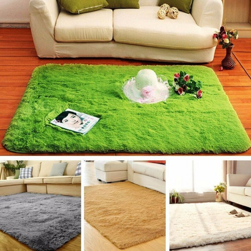 how to make a fluffy rug