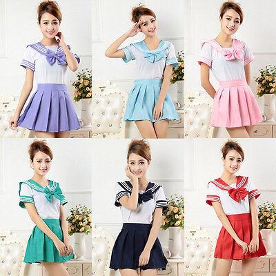 Cosplay Japanese School Girl Students Sailor Uniform Anime Fancy Dress Costume - Anime Cosplay Costume