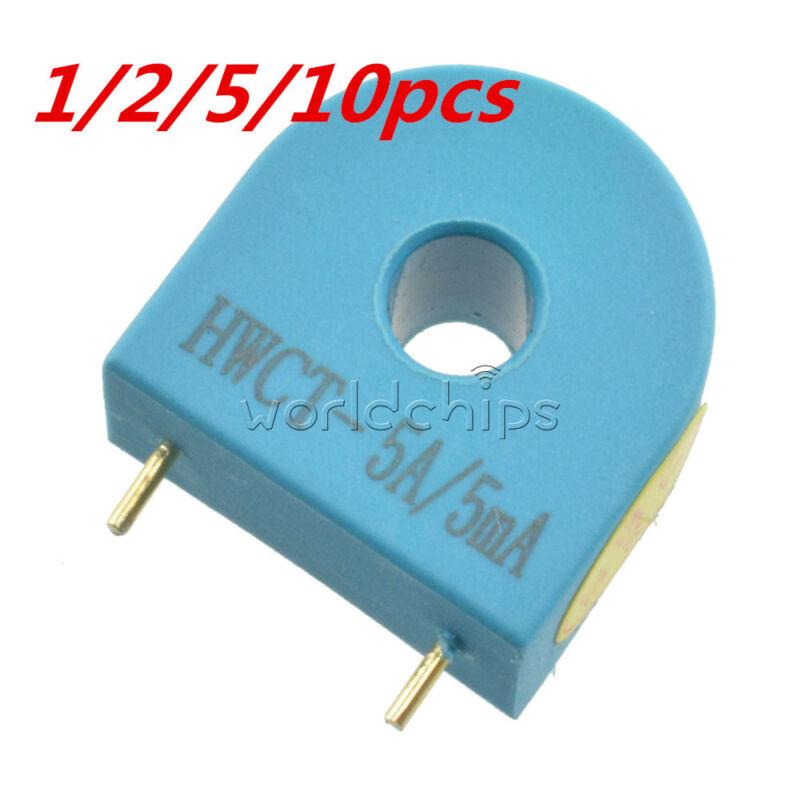 2/5/10PCS HMCT103C 5A/5MA Precision Micro Current Transformer Sensor Module New