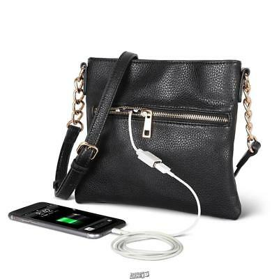 The Phone Charging Purse built-in backup battery USB Charging Station Built In Battery Backup