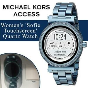 New  Michael Kors Access Womens Sofie Touchscreen Quartz Watch Condition: New, Stainless Steel Casual Watch, Color...