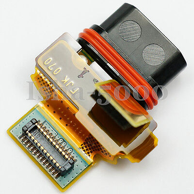 USB Charging Port Dock Connector Flex Cable For Sony Xperia Z5 Compact...