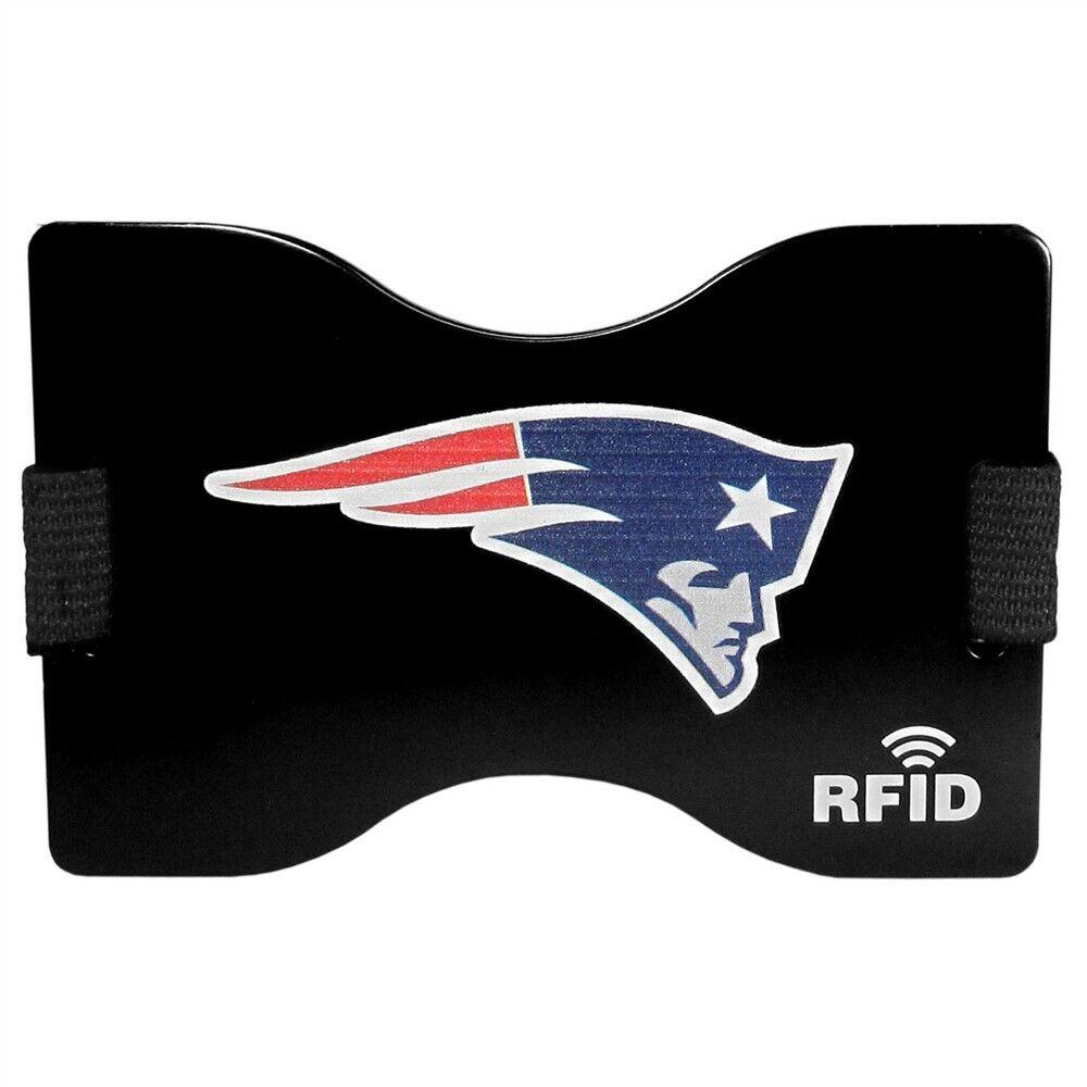New England Patriots Wallet RFID Blocking Slim Pocket Money