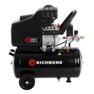 24 Litre Air Compressor - 9.6 CFM, 2.5 HP, 24L