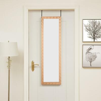 "Naomi Home Over The Door Mosaic Mirror Copper 42"" x 14"""