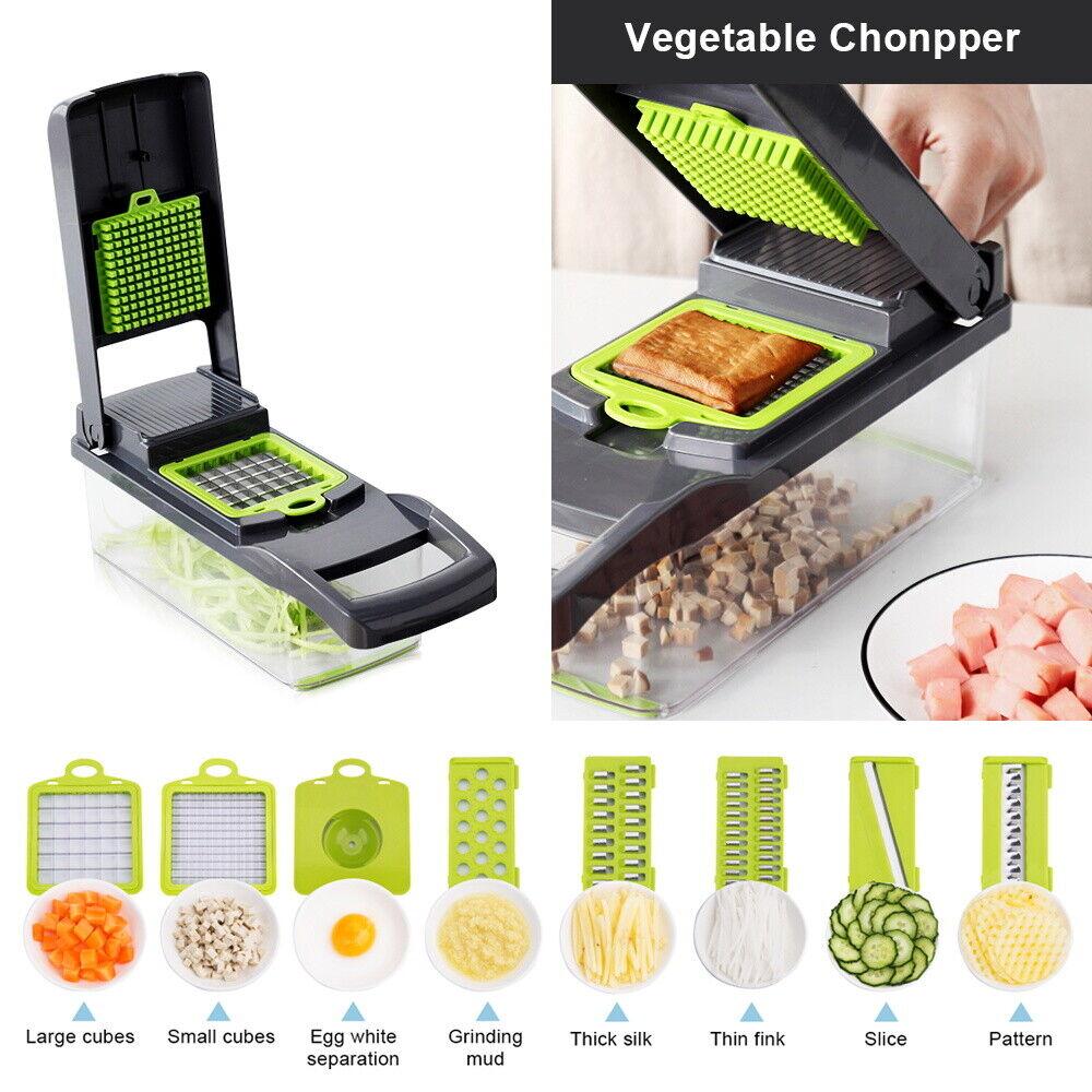 12 In 1 Food Vegetable Chopper Onion Fruit Dicer Chopper Veg
