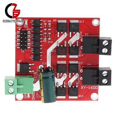 Dual Dc Motor Drive Module 7a 160w 12v24v Pwm H-bridge L298 Logic Control Board