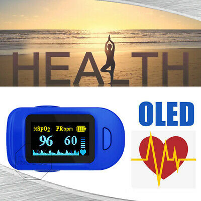 OLED Fingertip Pulse Oximeter Heart Rate Monitor SpO2 Blood Oxygen Saturation