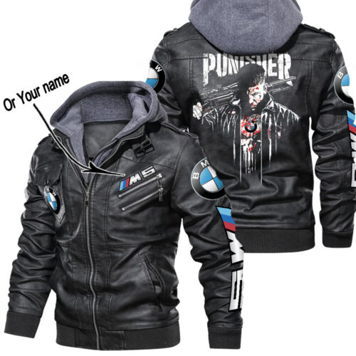 BMW M5 Leather Jacket Perfect Gift