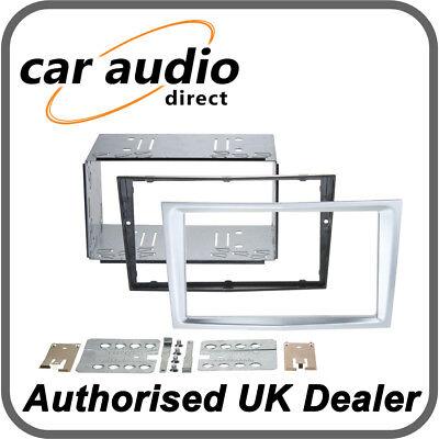 Connects2 CT23VX37 Matt Chrome Double DIN Facia Kit for Vauxhall Astra/Corsa