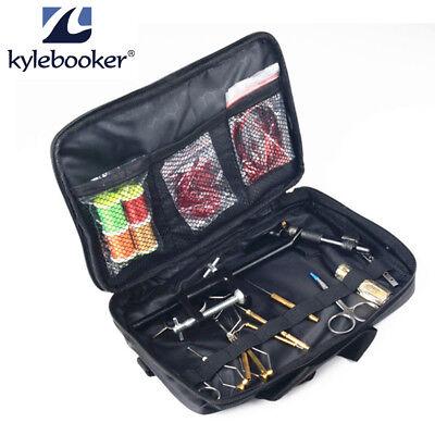 Vise Bobbin Holder - Fly Tying Tools with Vise Bobbin Holders Plier Hair Stacker Whip Finishers Kit