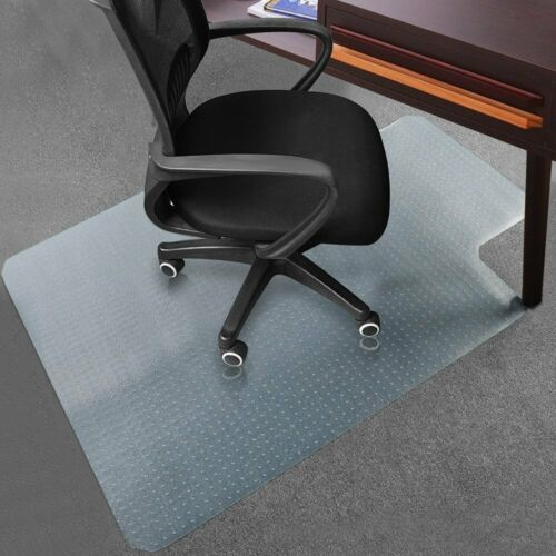 Rectangle PVC Home Office Chair Floor Mat Studded Back For Wood /Pile Carpet BR - $23.95