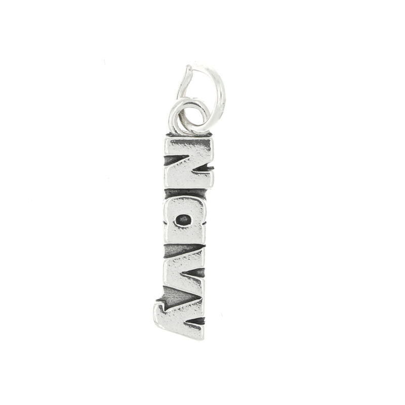 STERLING SILVER NAVY CHARM OR PENDANT