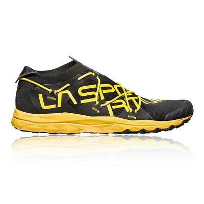 La Sportiva Mens VK Trail Running Shoes Trainers Sneakers Black Yellow Sports