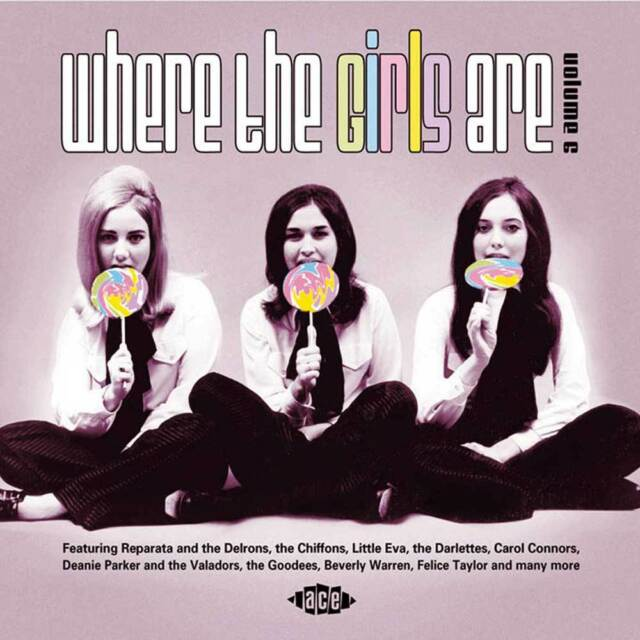 WHERE THE GIRLS ARE - VOL 6 - VARIOUS ARTISTS - CDCHD 1032