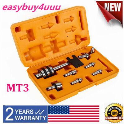 7pcs Morse Taper Mt3 Live Center Precision Needle Triple Bearing Lathe Tool Set