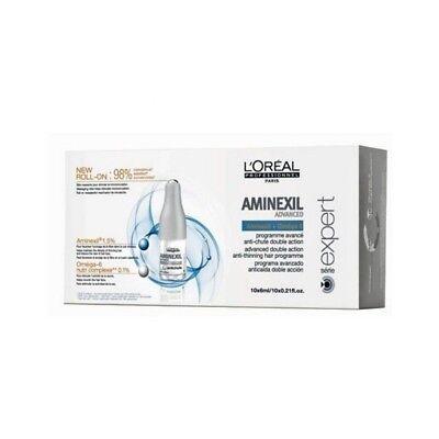 L'Oreal Aminexil Advanced Professional FIALE 10 x 6ml Anticaduta Capelli