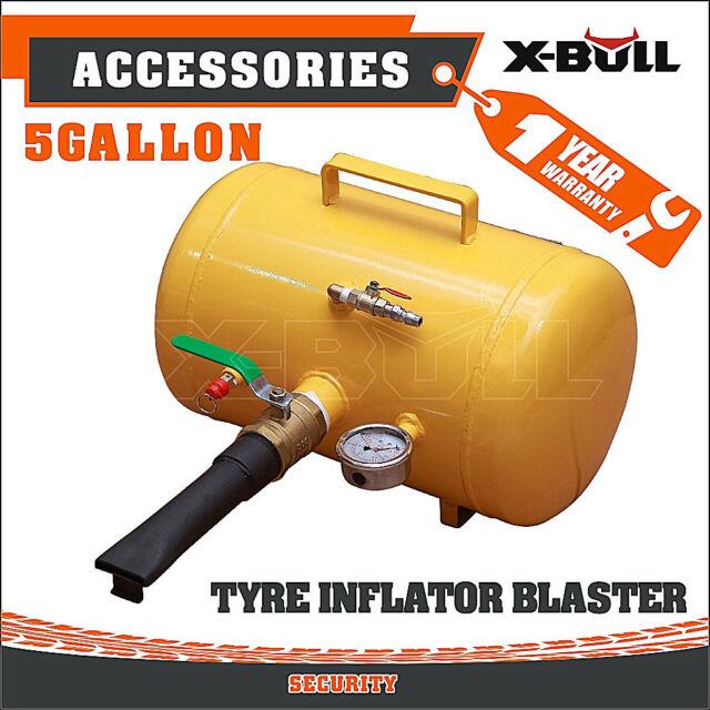 5 Gallon (20 Litre) Air Tank Bead Seater Tyre / Tire Inflator Blaster