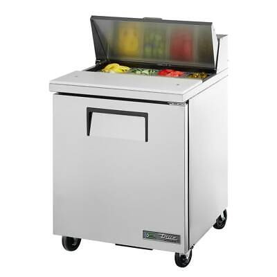 True Tssu-27-08-hc 27 Sandwichsalad Prep Table W Refrigerated Base 115v